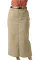 "Ladies 35"" PolyCotton Chino Skirt"