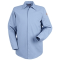 Men's Concealed-Gripper Pocketless Uniform Shirt (HRC2)