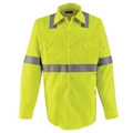 Hi-Visability Men's Long Sleeve Uniform Shirt (HRC2)