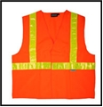 ANSI Class 2 High Gloss Trim Safety Vest